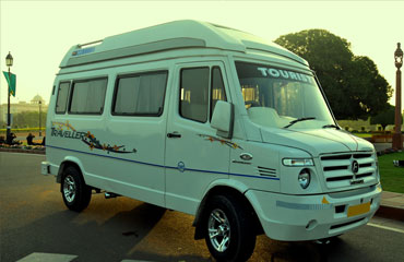 9 Seater Tempo Traveller Hire in Amritsar