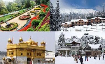 Amritsar Shimla Manali Dharamshala Dalhousie